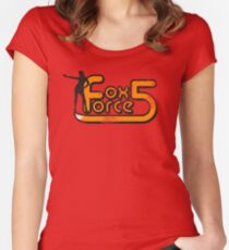 Fox Force Five - Pulp Fiction Women's Fitted Scoop T-Shirt