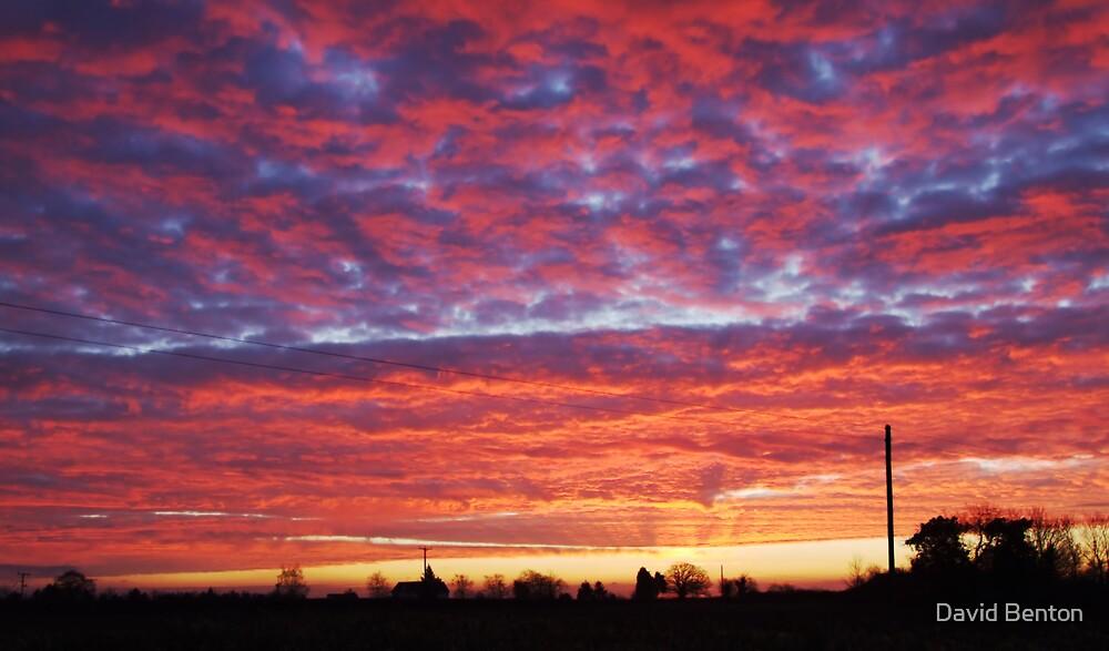 Hallow sunrise by David Benton
