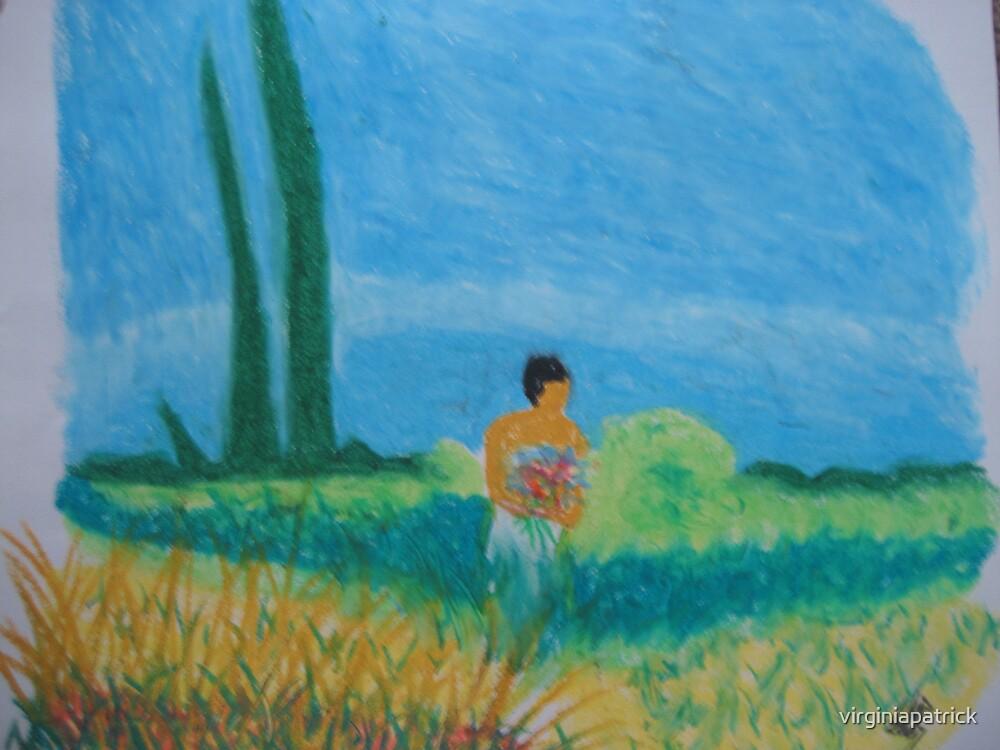 Flowerlady by virginiapatrick