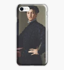 Bronzino - Portrait Of A Young Man iPhone Case/Skin