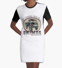 My other car is a UNIMOG Graphic T-Shirt Dress