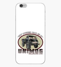 My other car is a UNIMOG iPhone Case