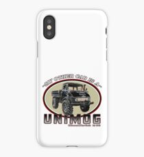 My other car is a UNIMOG iPhone Case/Skin