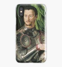 Bronzino - Cosimo De Medici In Armour iPhone Case/Skin