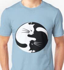 Ying yang cat Unisex T-Shirt