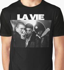 La Haine - Vincent Cassel, Said Taghmaoui, Hubert Graphic T-Shirt