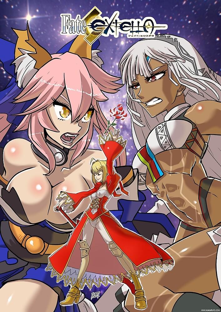 Fate Extella by kukuruyo