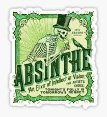 Absinthe Label Sticker