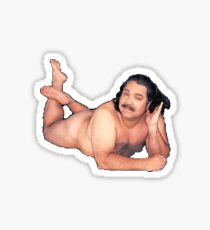 Ron jeremy posing for you Sticker