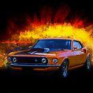 Boss 429 Mustang by Stuart Row