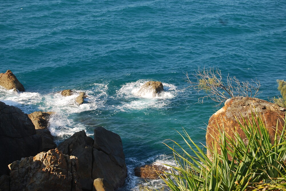Another view from Round Hill headland in Central Queensland Australia by junjari