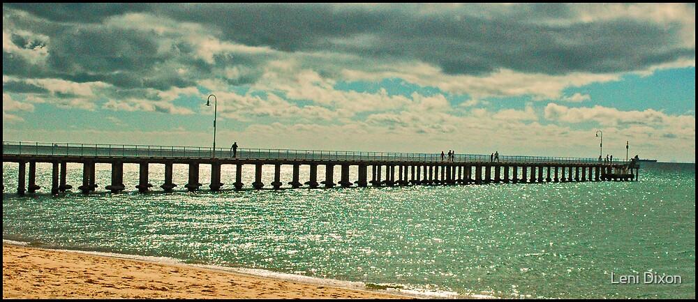 Dromana Pier  by Leni Dixon
