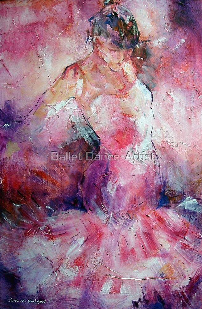 Absorbed In Dance - Dancers Art Gallery by Ballet Dance-Artist
