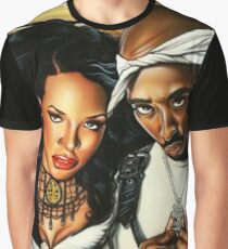 Pac & Aaliyah Graphic T-Shirt
