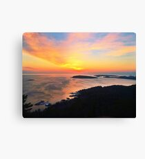 Sunrise on Sugarloaf Mountain  Canvas Print