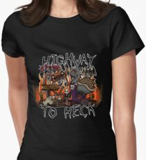 Carnikids: Highway To Heck (Color) Women's Fitted T-Shirt