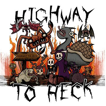 Carnikids: Highway To Heck (Color) by carnikids