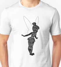 Tinkerbell Quote, from Peter Pan Unisex T-Shirt