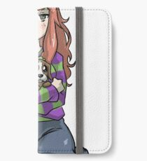 Vivian james and sad puppie iPhone Wallet/Case/Skin