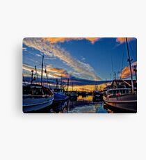 Hobart Docks Canvas Print