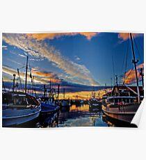 Hobart Docks Poster