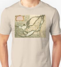 The Isles of Montreal, Canada antique map circa 1761 Unisex T-Shirt