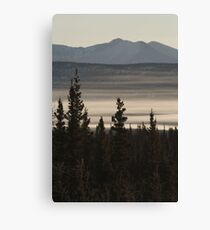 Yukon Mist Canvas Print