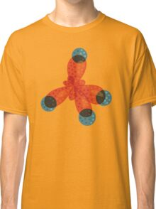 Just An Orange Methane Molecule Classic T-Shirt