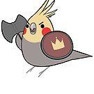 D&D Birds - Warrior by pigbee