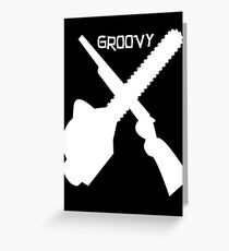 Groovy v2 Greeting Card
