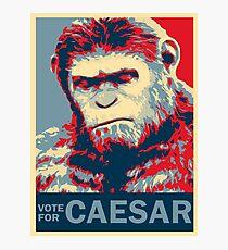 VOTE FOR CAESAR Photographic Print