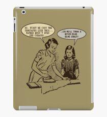 1950s Wife Rules Humor iPad Case/Skin