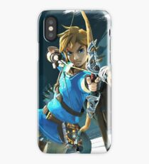 Link - The Legend Of Zelda: Breath of the Wild iPhone Case/Skin