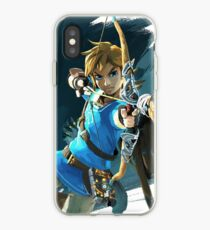 Link - The Legend Of Zelda: Breath of the Wild iPhone Case