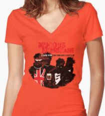 Venus of the Hardsell Women's Fitted V-Neck T-Shirt