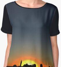 Washington Heights Sunset Chiffon Top