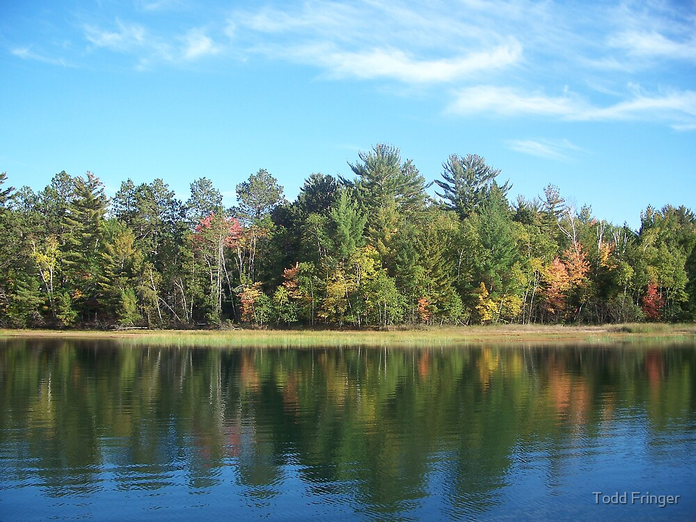 Autumn Reflections by Todd Fringer