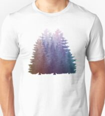 My Misty Secret Forest Pine Trees  T-Shirt