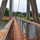 Hanapepe Swinging Bridge by Catherine Sherman