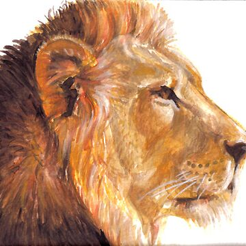 Lion Painting by Correlation