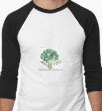 Superfood Superfan: Broccoli Men's Baseball ¾ T-Shirt