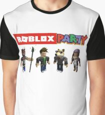 Roblox Party Graphic T-Shirt