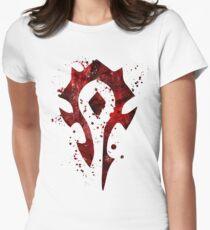 Horde Splatter Women's Fitted T-Shirt