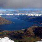 Lake Wakatipu Winter View by Peter  Sundstrom