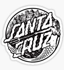Santa Cruz Logo - Mermaid Sticker