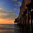 Dramatic Pier Sunrise..... by Poete100
