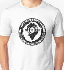 Section 9 Logo - Black Plain Unisex T-Shirt