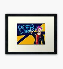 Pleb Framed Print