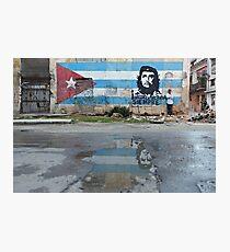 Che Guevara Mural Photographic Print