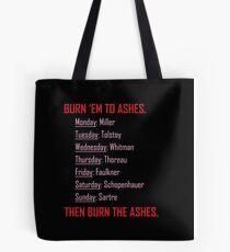 Huxburywell: Manifesto 451 Tote Bag